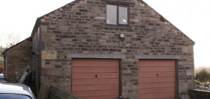 Conversion of barn to a dwelling