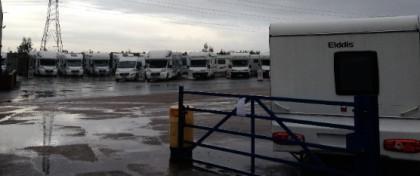 Cranham Caravans Southend Arterial Road Upminste
