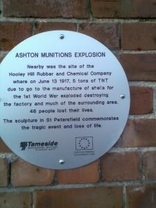 Ashton Munitions Explosion
