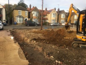 Erection of 2 x 2-storey, 2-bed dwellings | Land East Of 20 And 22 Gordon Avenue March Cambridgeshire